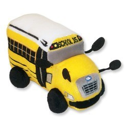 baby toy Stuffed Plush toy buses