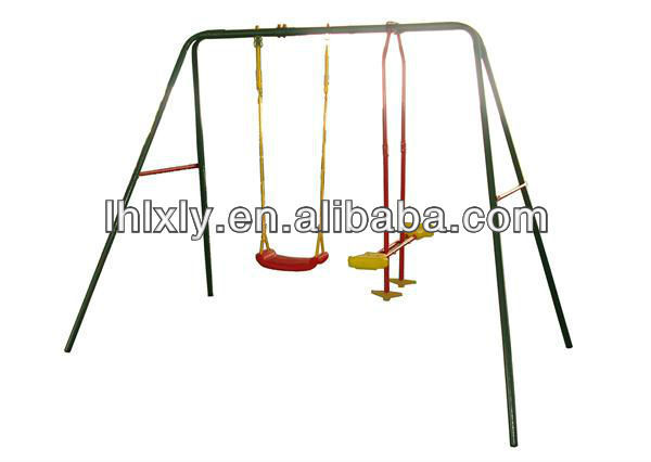 Metal 3 seater swing