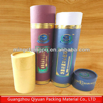 Color printing kraft paper tube buy kraft paper core for Kraft paper craft tubes