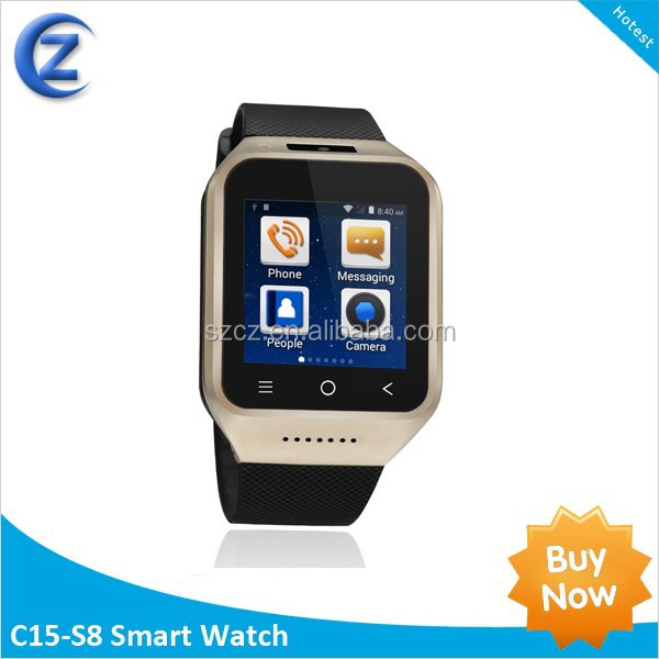 3G dual core WIFI and GPS smartwatch android waterproof smart watch android dual <strong>sim</strong>