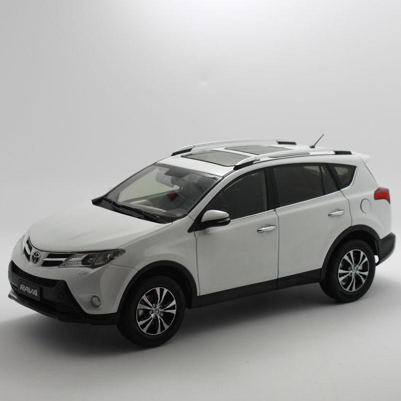 ORIGINAL MODEL 1:18,Toyota NEW RAV4 2013,AWD,CITY SUV
