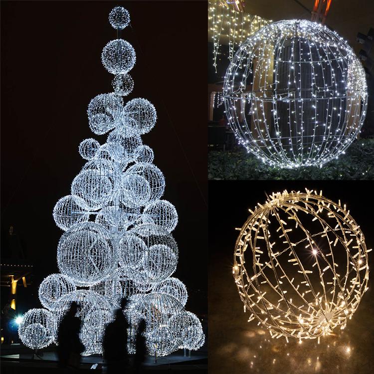 Customizable Led Christmas Ball Lights For Shopping Mall Decoration - Buy Customizable Led Christmas Ball Lights,Led Christmas Light Balls,Shopping ...