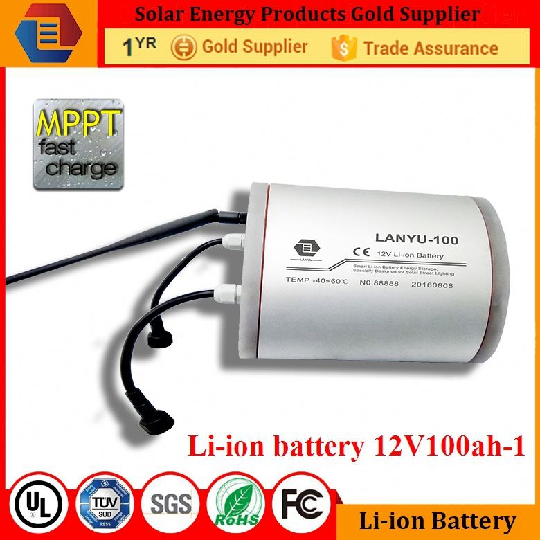 4v gel battery 1000ah solar batery bank for back power system 12v 100ah li ion battery /LYLIBR12V100B257