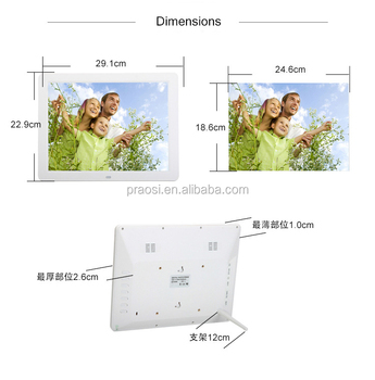 Large Size Touch Screen Digital Picture Photo Frame 12 Inch - Buy ...