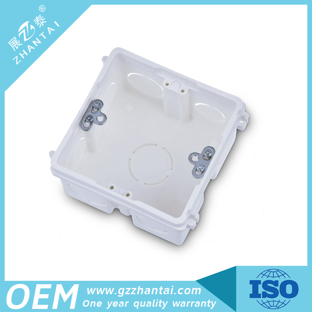 Square PVC Electrical Junction box made in China
