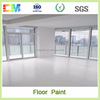 Double component good adhesion epoxy floor paint
