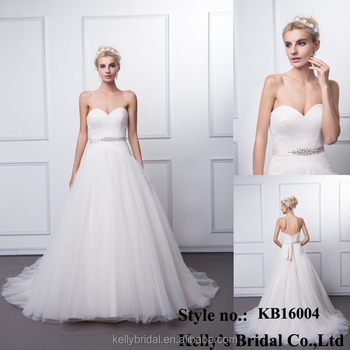 64f959108e KB16004 Fashion New Greek Style Wedding Dresses With Beaded Sash And long  Train Vintage Backless Champagne