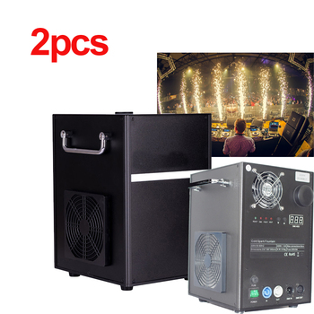 400W china factory supplies dmx REMOTE control safe cold flame fireworks spark touchable fireworks fountain machine