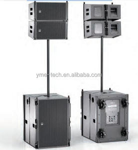 YOGA X Active Sys 1 YG 75 Bi-amp 1x10 inch outdoor stage passive 2way line array dj concert sound system