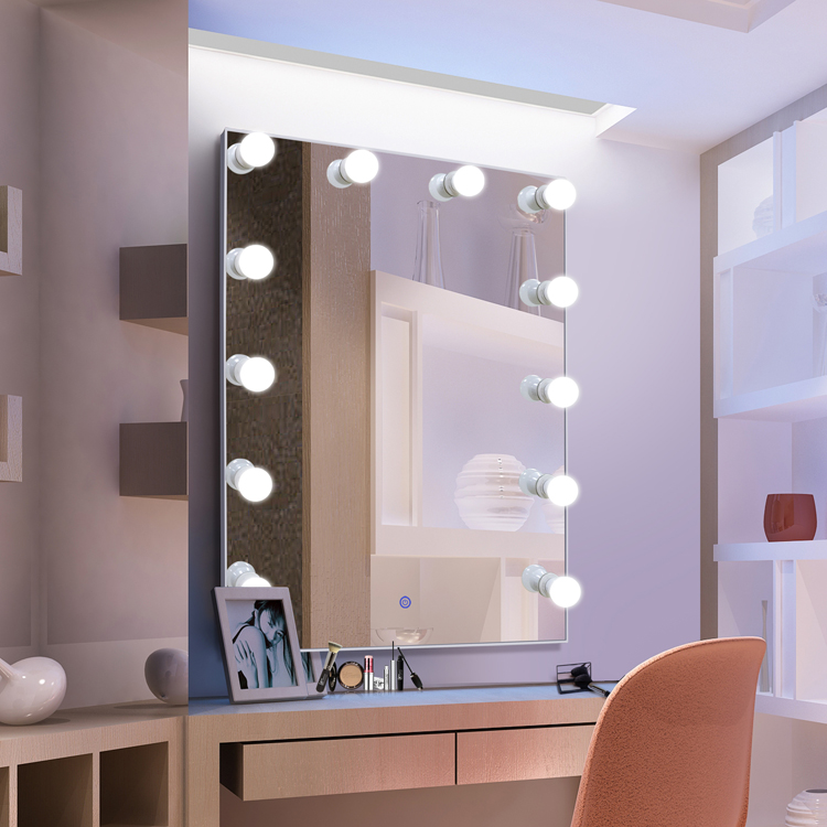 Hollywood Lights Bathroom: Home Decor Bathroom Hollywood Mirror For Makeup Vanity Led