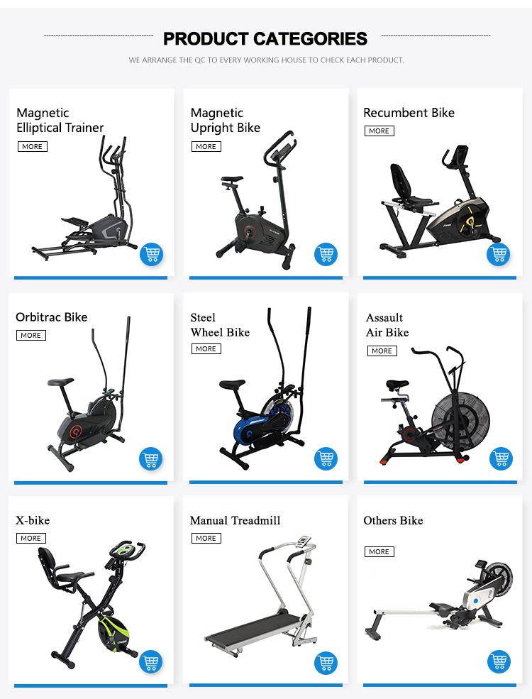 O Melhor Magnética Ginásio Trainer Bicicleta de Exercício Na Posição Vertical