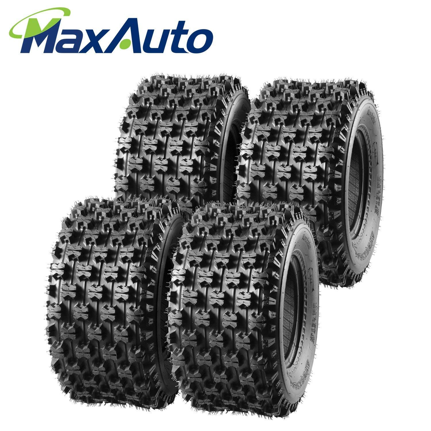 SET 4 21X7-10 20X10-9 YAMAHA YFZ 450 MASSFX  QUAD SPORT ATV TIRES