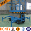CE 6m electric air motorcycle mobile scissor lift table