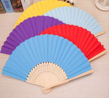 personal service national folding hand fan