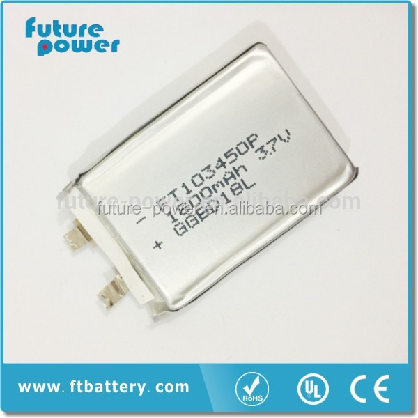 Highly recommend/ Good quality 3.7v 1800mah li-polymer battery for sales