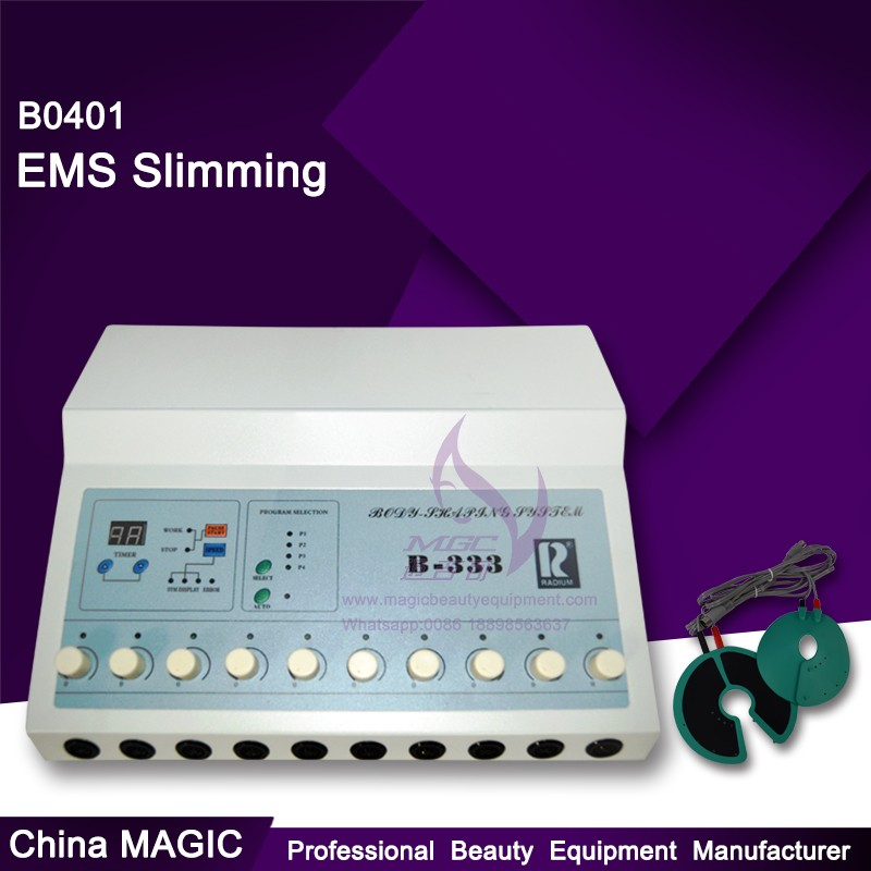 B0401 mini electronic muscle stimulator / compex muscle stimulator