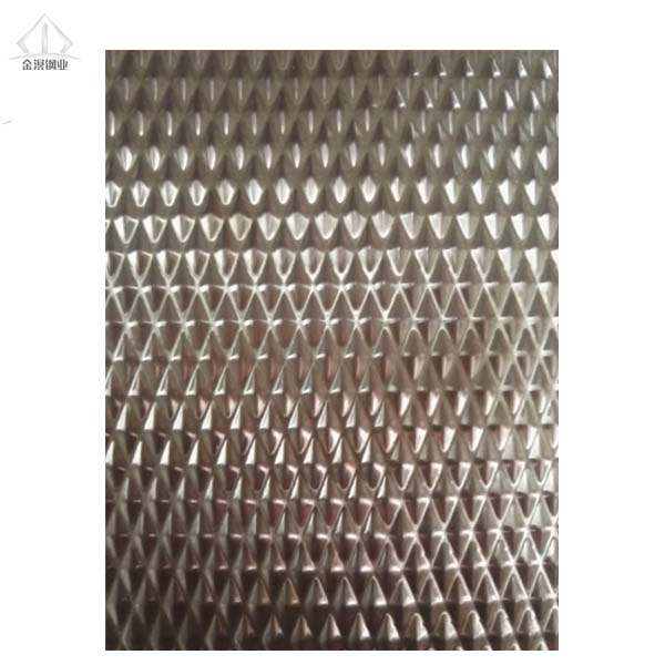 Factory price 201/304 color stainless steel embossed sheet 2WL/5WL/6WL