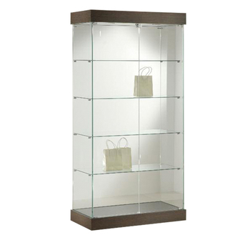 Perfume Glass Display Showcase Cabinets Commercial