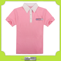 customized cotton polo shirts for women