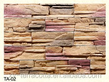 Foshan Guangzhou Imitation Brick Wall Fake Textured Tile