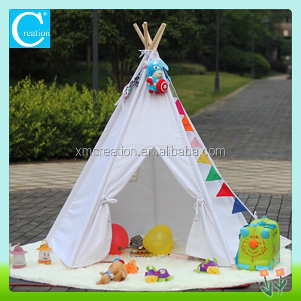wei es tipi zelt kinder tipi baumwolle spielzeug zelt produkt id 60105344279. Black Bedroom Furniture Sets. Home Design Ideas
