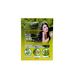 olive and noni and aloe vera essence 3 in 1 black darkening hair shampoo only 5mins grey hair becomes black hair