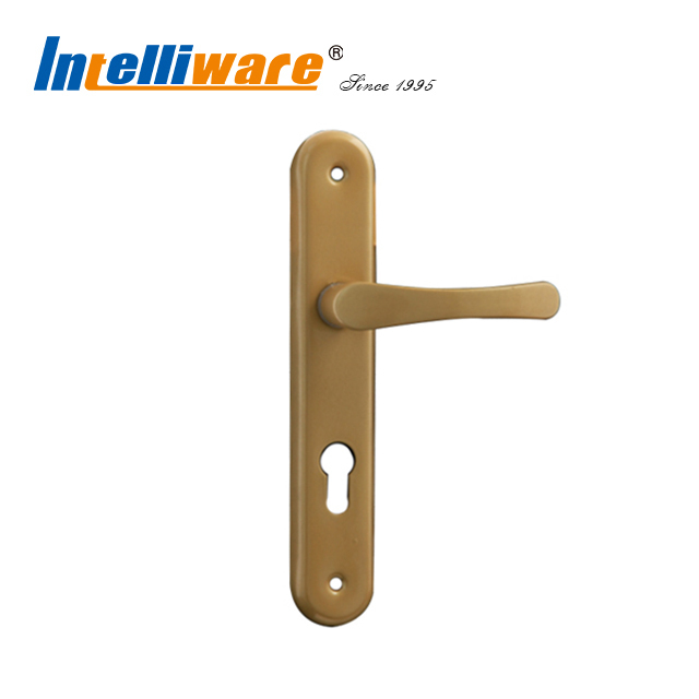 Aluminum Long Door Handle Lever For Wooden Door