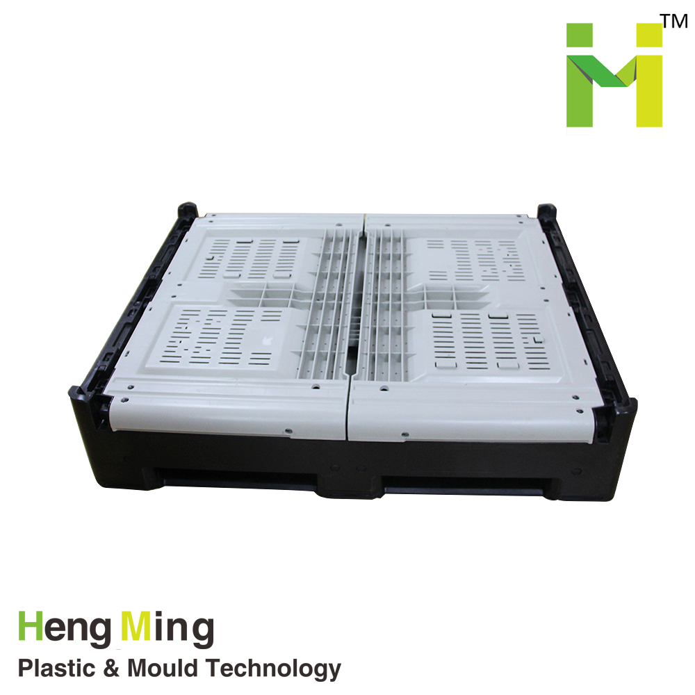 Heavy duty large cheap HDPE vented fruit plastic pallet box for sale