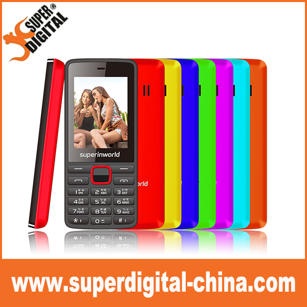 OEM 2.4'' active dual sim cell gsm feature mobile bar phones