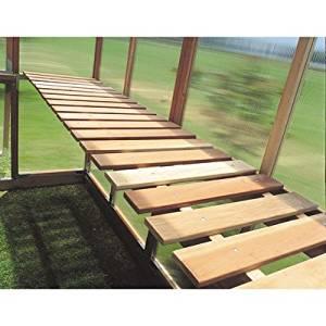 Sunshine GardenHouse Bench Kit - For Item# 24553 4ft. x 6ft. Mt. Hood GardenHouse Greenhouse, Model# GKP64-BENCH