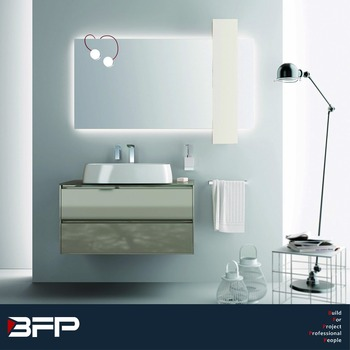 Modern Top Curve Cabinet Storage Cabinet Luxury Bathroom