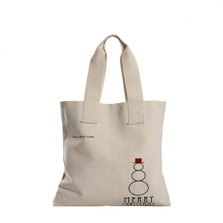 Natural Color Plain Cotton/Canvas Tote Bag