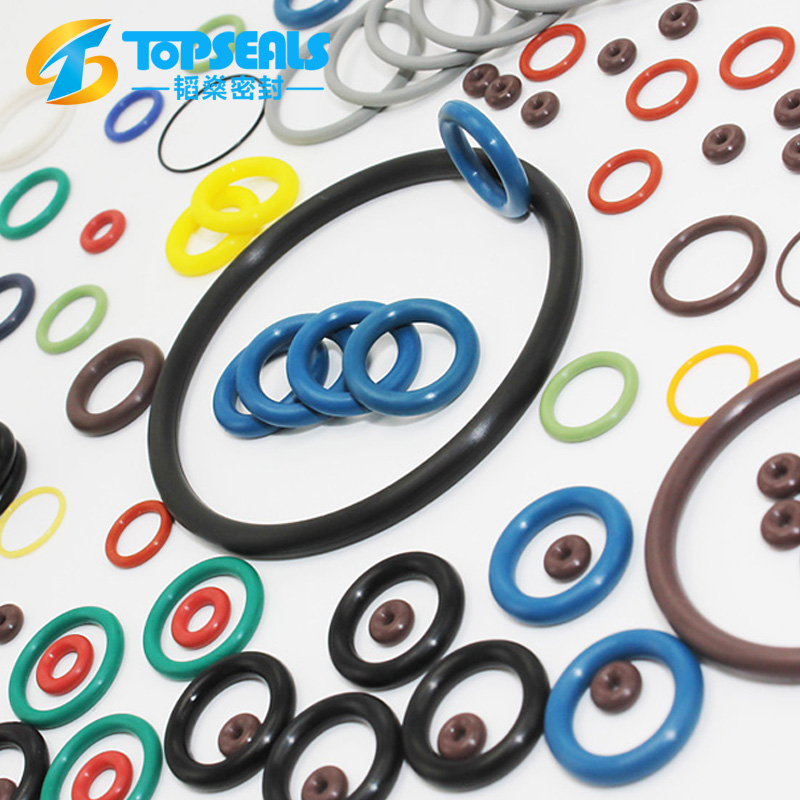 colored viton NBR silicone all types of o-ring rubber for machine