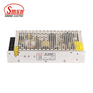 SMUN Hot Sale D-220C 12VDC 4A/24VDC 7A 220W Dual Output Power Supply Design For LED TV