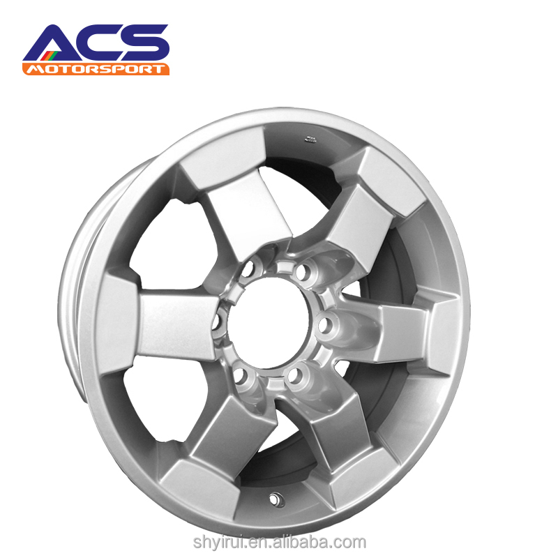 Hot selling silver color paint finishing 60083 16 inch car sky alloy wheel