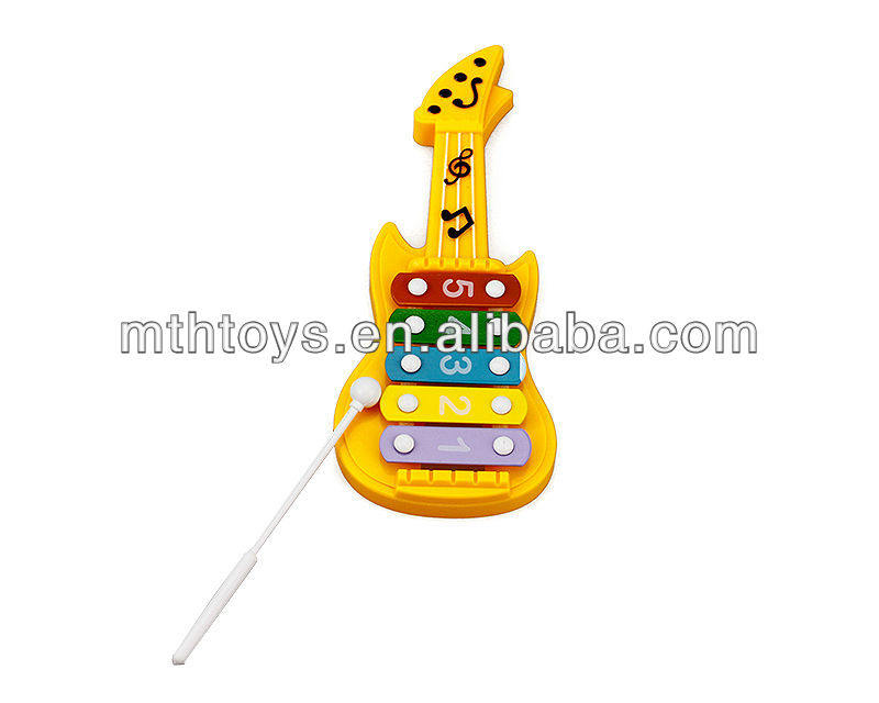 kids mini plastic toy guitar