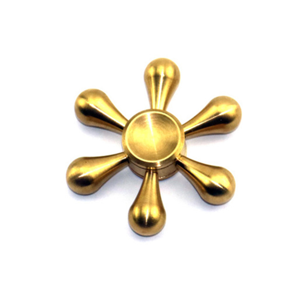Best Selling Products 2017 in USA Brass Fidget Hand Spinner Copper Game Spinner 608 Bearings Fidget Spinner