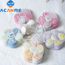 Mini Towel Washcloth with lollipop Shaped cotton lollipop for gifts