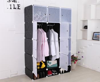 Bricolage En Plastique Armoire Placard Chambre Armoires 12 Cube De