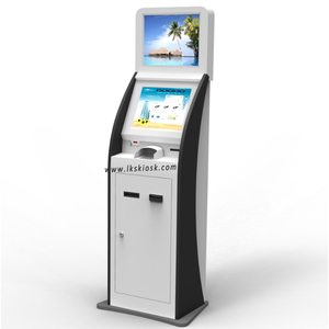 17 Inch Touch Screen Payment Kiosk With Bill Acceptor