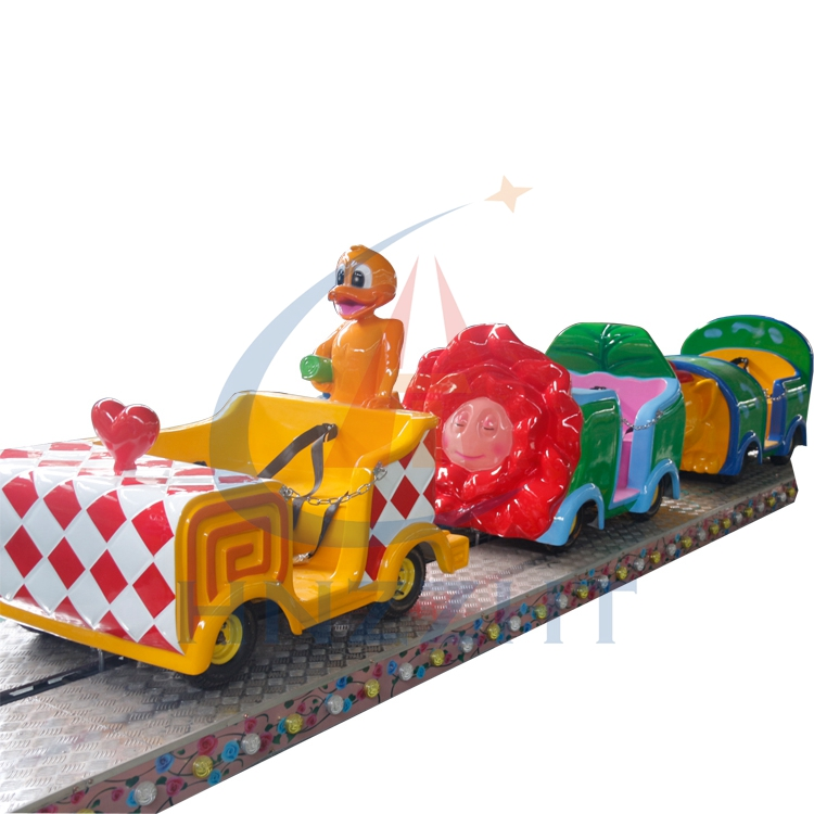 Entertainment ride indoor outdoor amusement park electric train mini shuttle