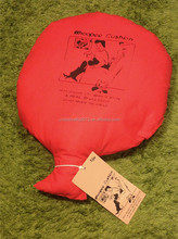 Cute logo printed eco-friendly whoopee cushion with air makes fart sounds