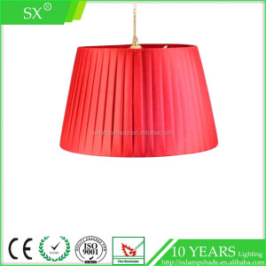 clothing store decoration cover cap ceiling red hat plexiglass lampshade