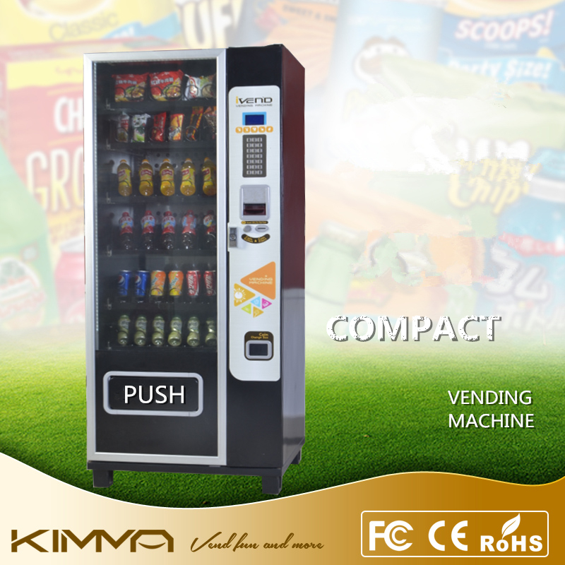 Automatic Food Products Drinks And Starbucks Coffee Vending Machine