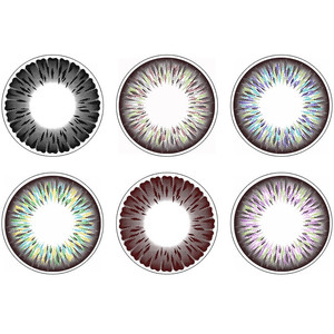 Beauty Hurricane Color Eye 14.5mm Contact Lenses