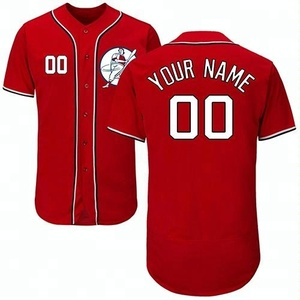 sublimation baseball jersey baseball uniform sports custom baseball wear with name and number