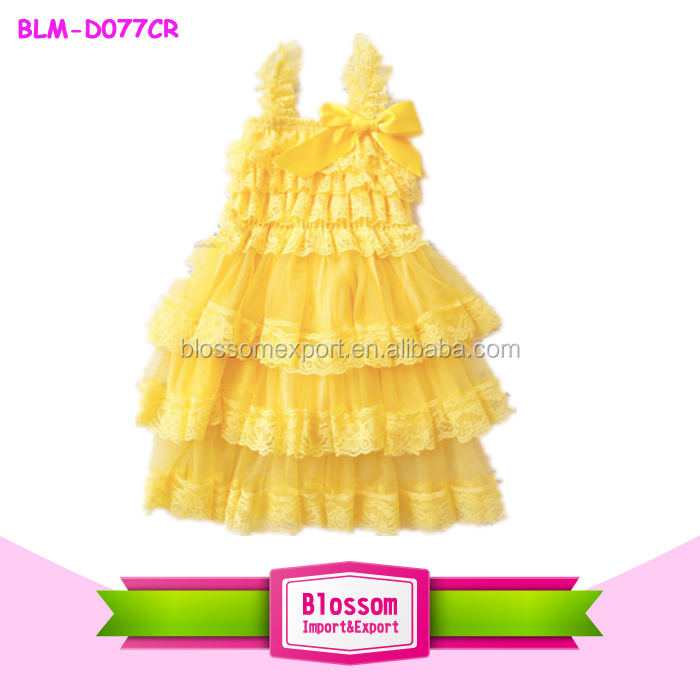 New arrival children gold chiffon frocks designs chiffon toddler girls chiffon frocks designs baby lace dress
