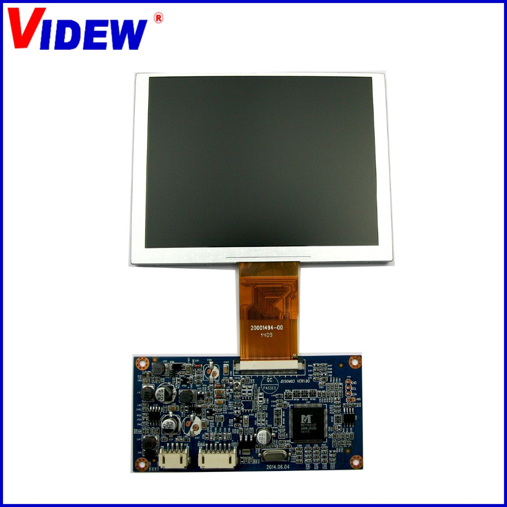 5 inch digital tft lcd module for video doorphone and other display equipment