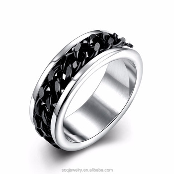 tungsten gear ring metal mens wedding band ring in comfort fit and high polished finish - Gear Wedding Ring