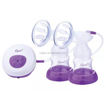 Baby care products CE and FCC certificate double pumps automatic electric breast pump for sale